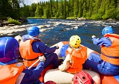 Rafting down the Shuya River Tour