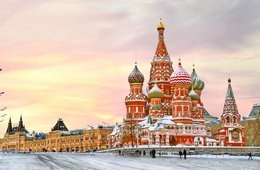 Highlights of Moscow and St. Petersburg