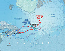 Icebreaker Expedition to the North Pole